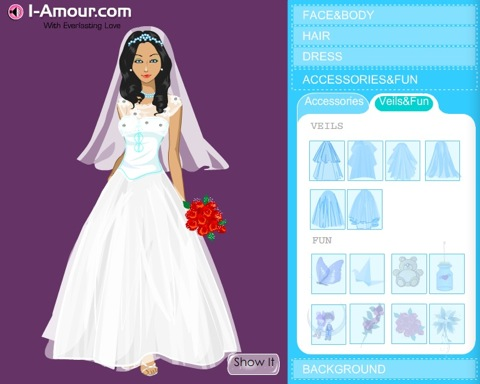 Design Your Own Wedding Dress Online